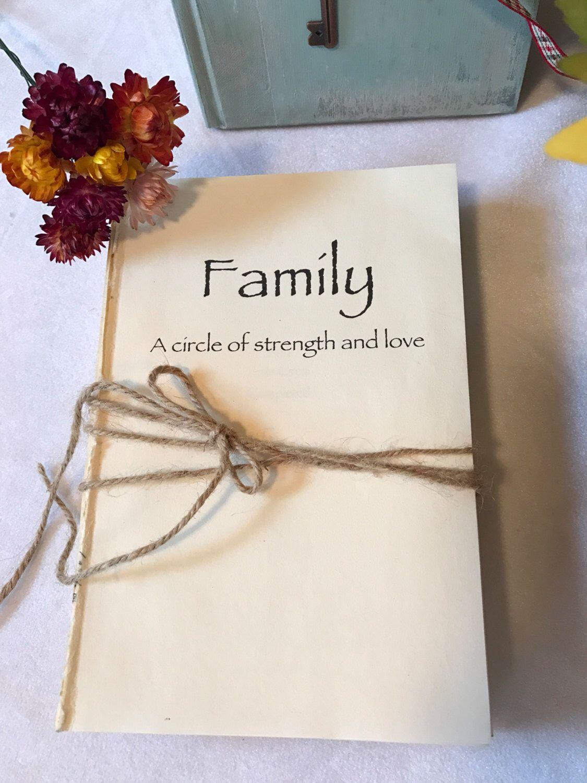 Saying, Family a circle of love, Stocking Stuffer, Family Saying ...