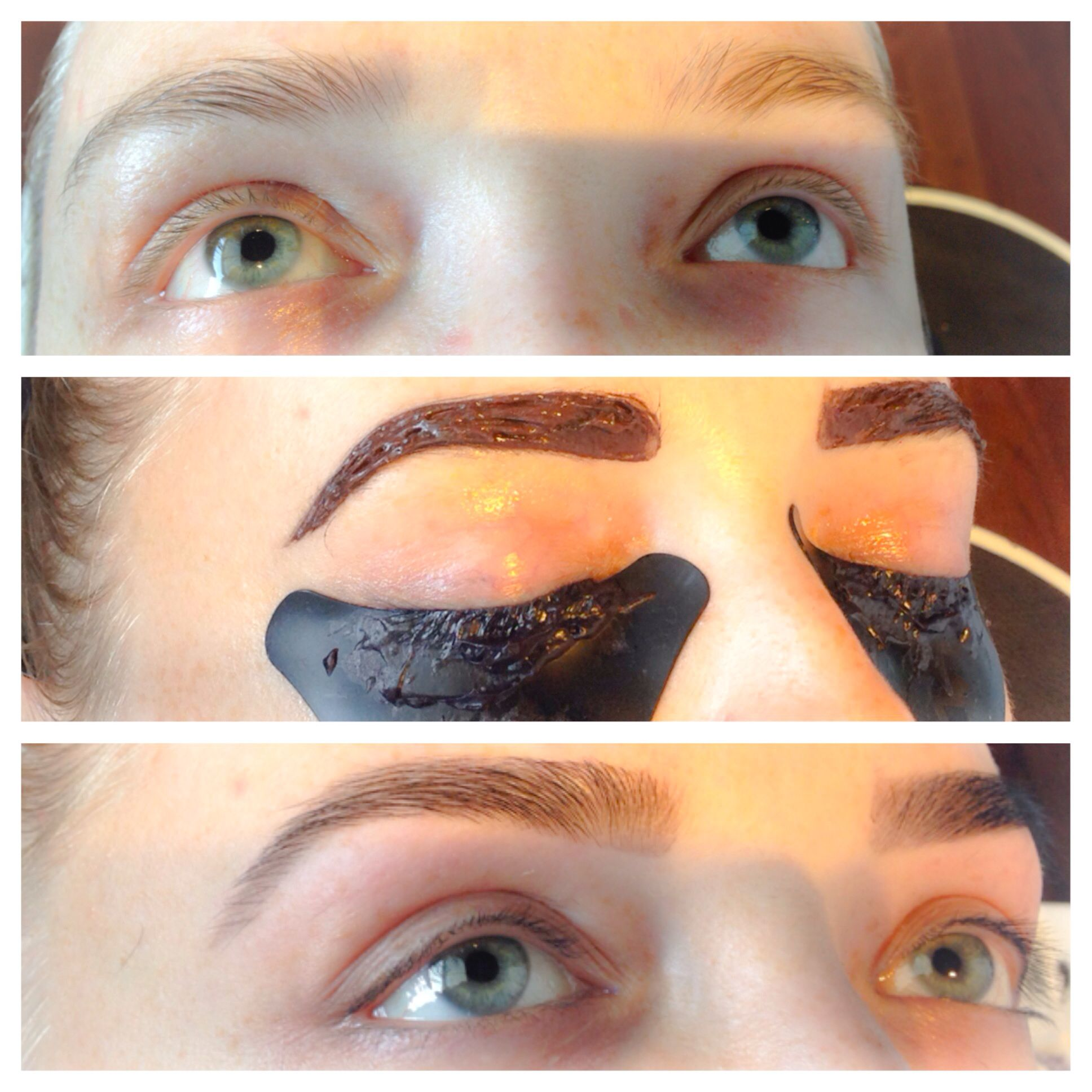 Brow Tint Lash Tint Threading And Final Touch With Browlash Brow