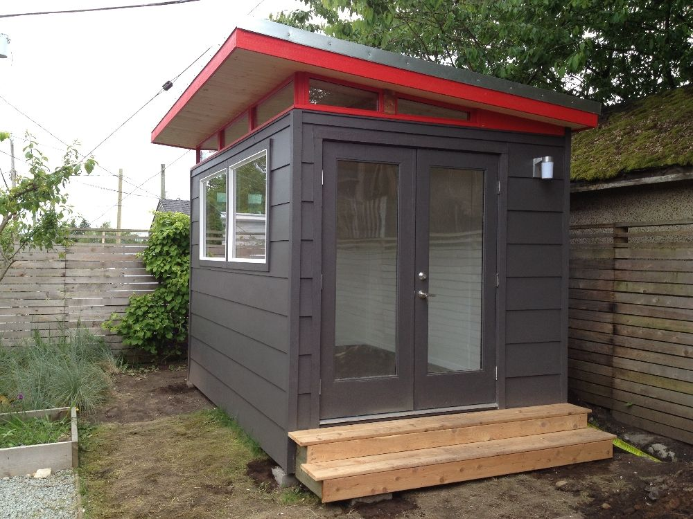 modern shed designs shed plans kits back yards pinterest modern storage and backyard - Garden Sheds Canada