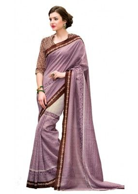 Casual Wear Multicolour Silk Saree  - Paridhi3315