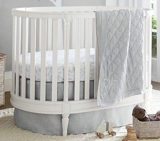 Best Blythe Oval Crib Oval Crib Baby Cribs Cribs 400 x 300