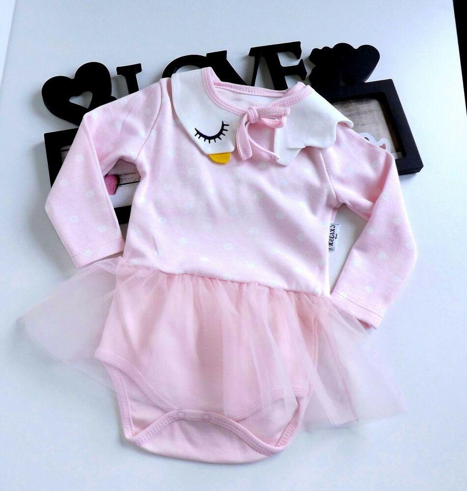 Designer Kindermode Mädchen Body Overall Body Strampler Anzug 56