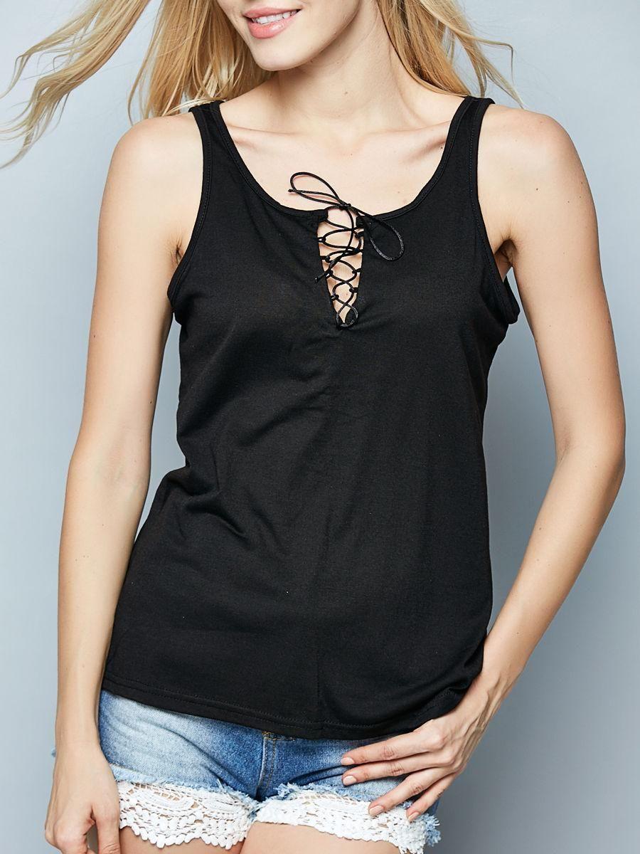 V Neck Sleeveless T Shirts Online