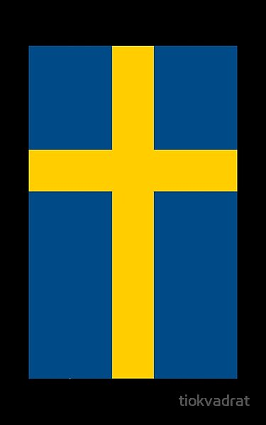 The Flag Of The Country Sweden Sveriges Flagga In Its Official Colors Of Midnight Blue Hex 004b87 Rgb 0 75 135 Cmyk 100 In 2020 Swedish Flag Flag Sweden