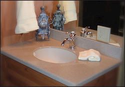 Corinthian Solid Surface Vanity Top