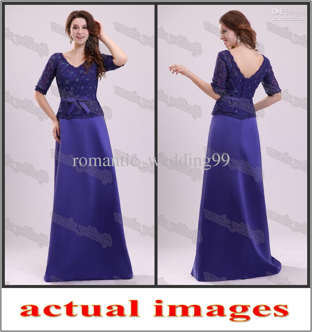 Wholesale Graceful Three Quarter Length Long Sleeves Formal Gown ...