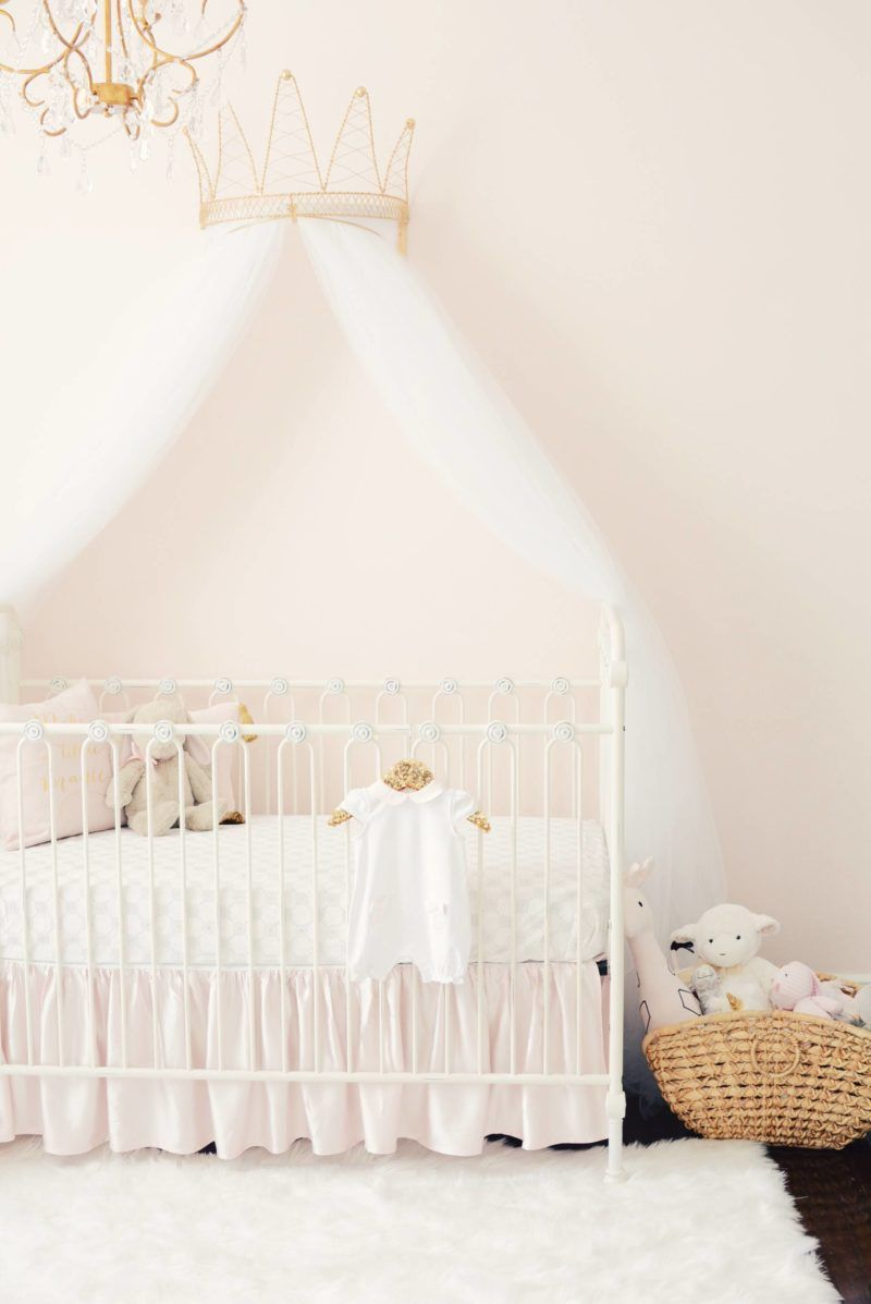 sophia s nursery reveal bambini nursery girl nursery princess rh pinterest com