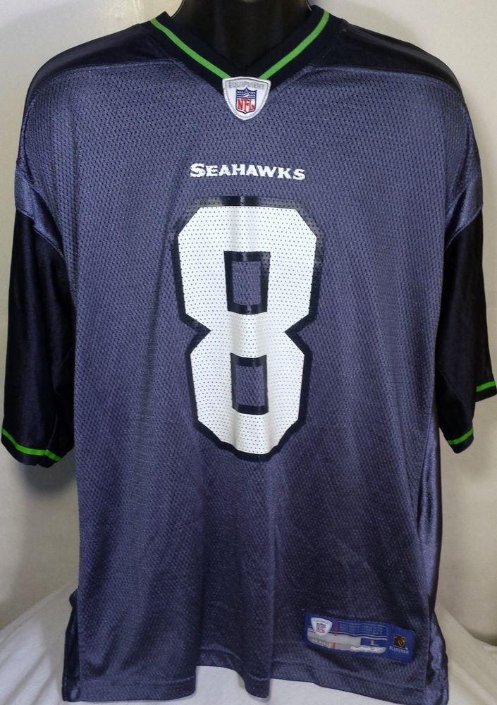 Seattle Seahawks Matt Hasselbeck Mens Size Large Reebok Football Jersey #Reebok #SeattleSeahawks