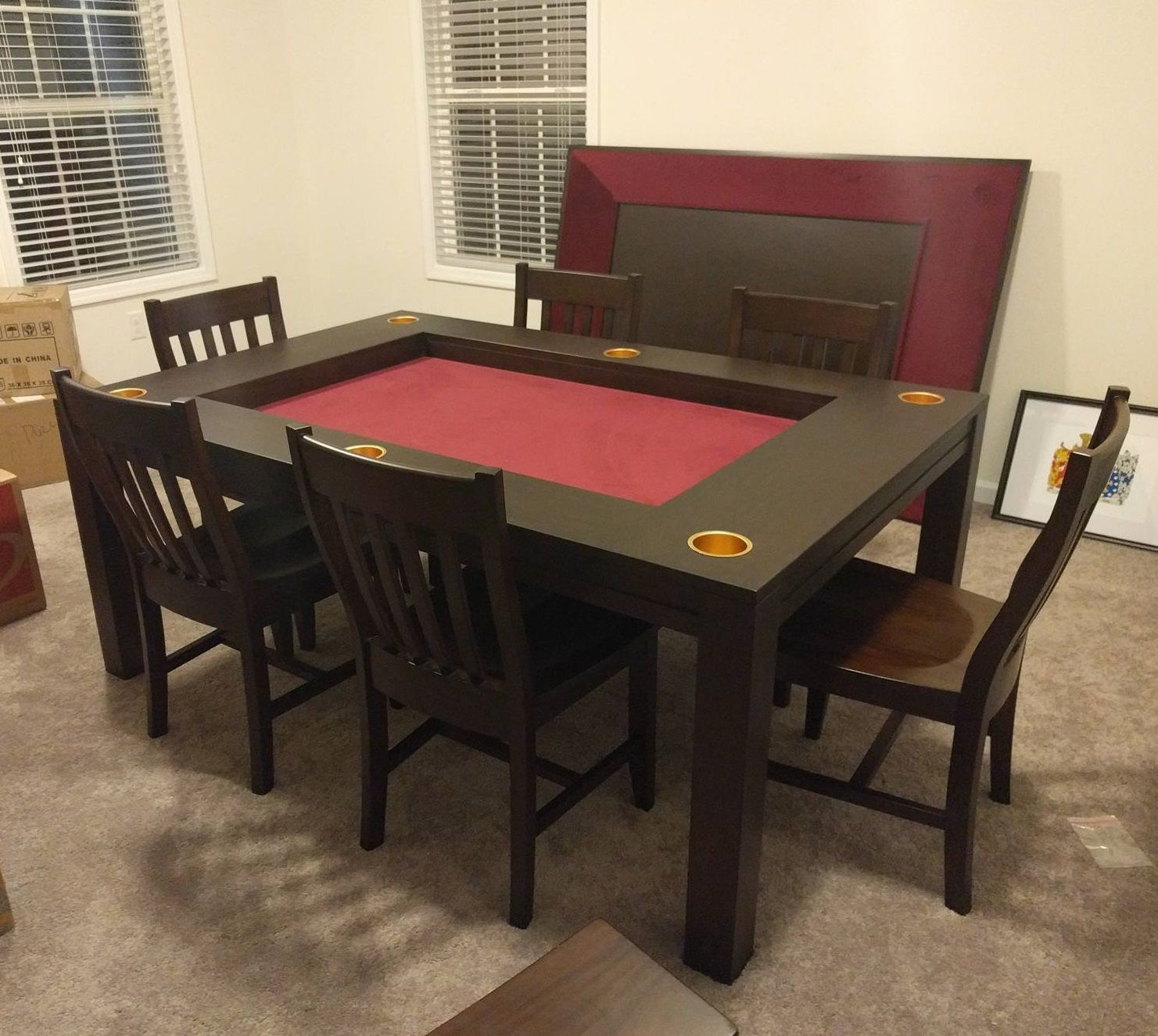 Dining Game Table: One Table for Everyday Dining and Game Night
