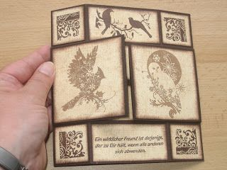 Heidis Creativblog: Workshop Endloskarte