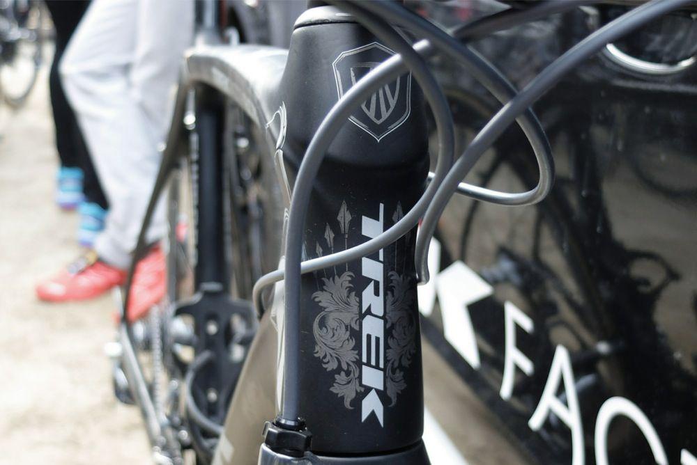 Pro Bike Gallery Fabian Cancellara S Trek Domane Classics Edition