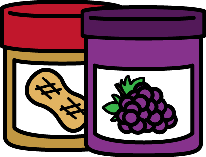 free peanut butter and jelly clip art by mycutegraphics clip art rh pinterest com peanut butter jelly time clip art