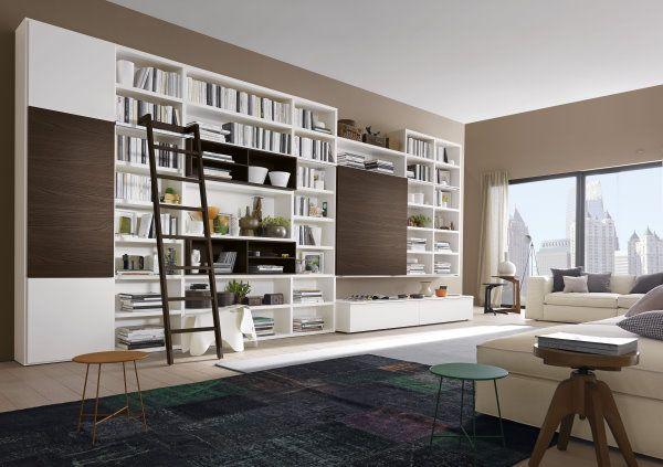 parete libreria | мебель nel 2018 | Pinterest | Arredamento ...