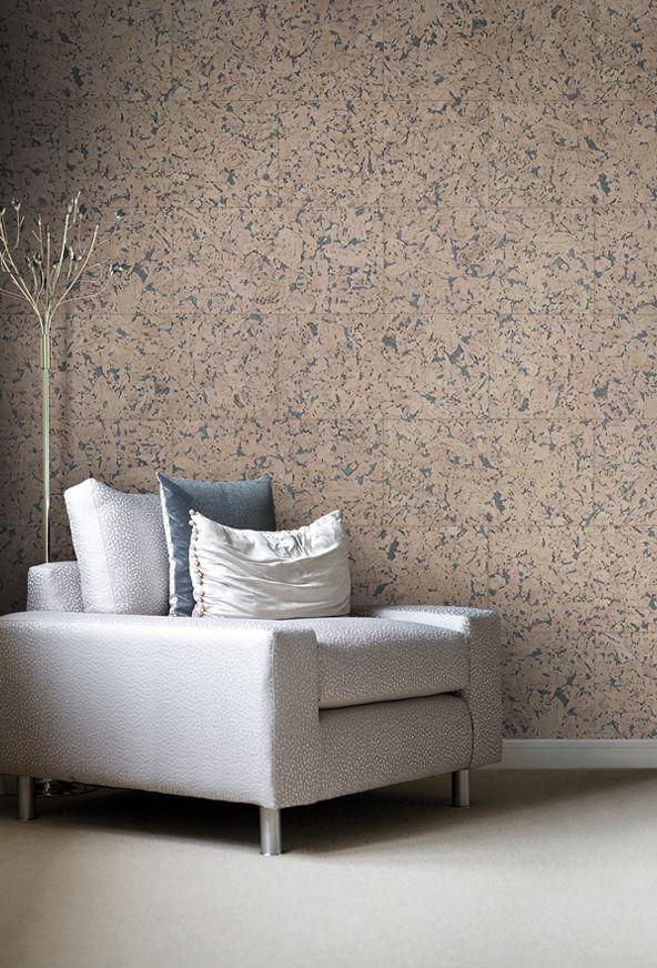 Charred Cork Wall Tile