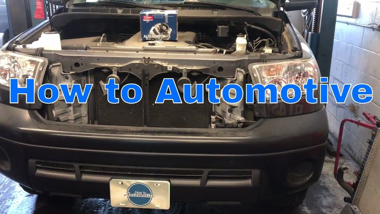 What Does An Alternator Do Repairpalcom General Car 2000 4runner Fuel Filter Location How To Replace The On A 2002 2009 Toyota With 40l En Auto Repair Pinterest And