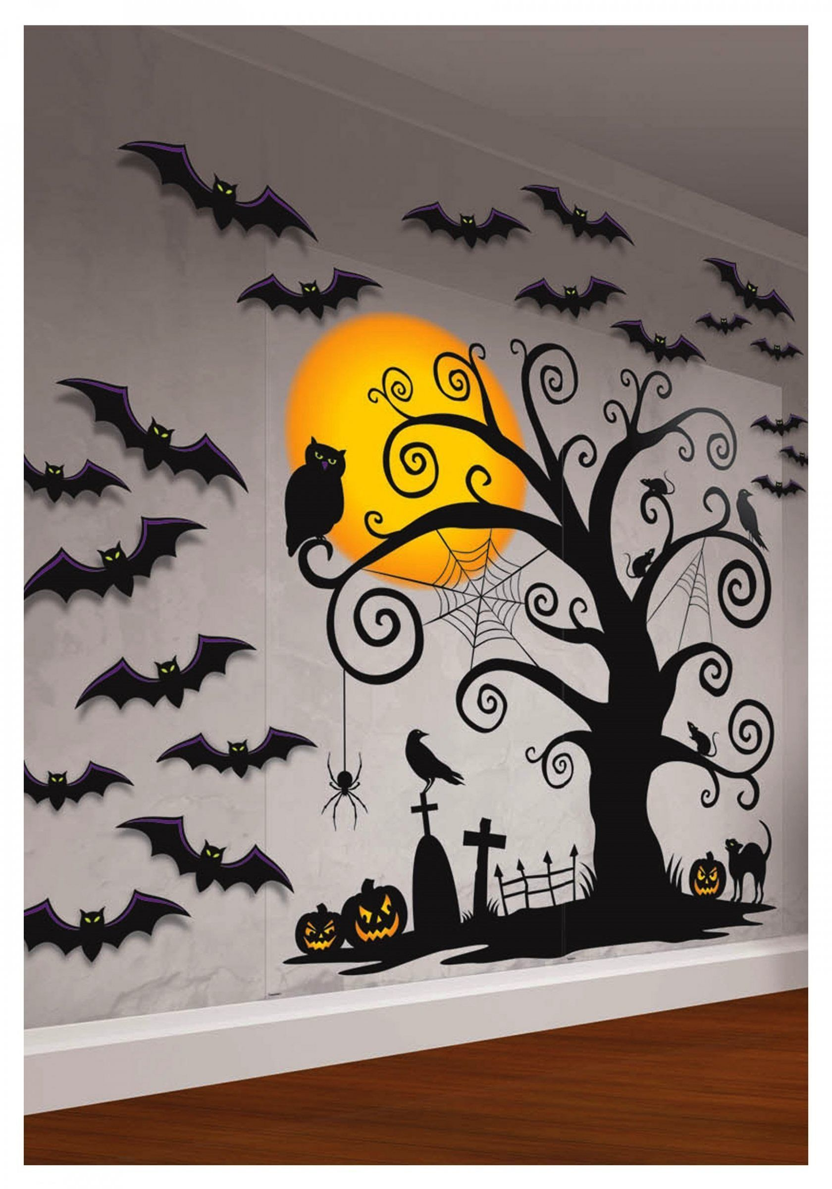 Interesting 25 Halloween Home Wall Decorating Ideas To Inspire