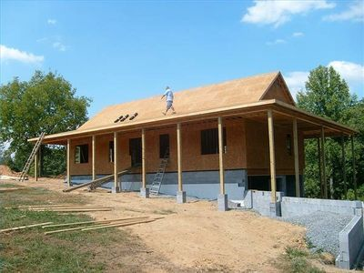 building a house by yourself pole barn house plans pinterest house building a house and home. Black Bedroom Furniture Sets. Home Design Ideas