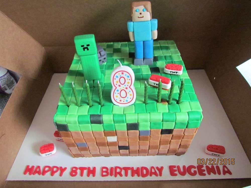 Minecraft Birthday Party Ideas With Images Minecraft Birthday
