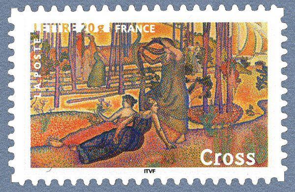 Henri-Edmond Cross - «L´air du soir» 1893/94 Les impressionnistes
