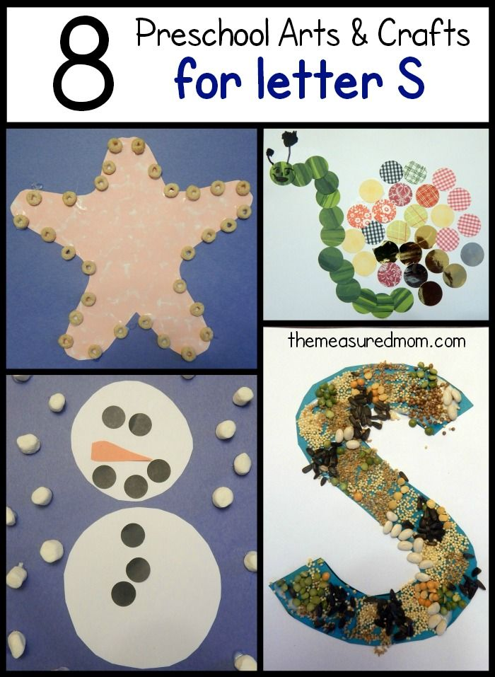 Letter S Crafts | Alphabet Activities | Letter s crafts, Alphabet