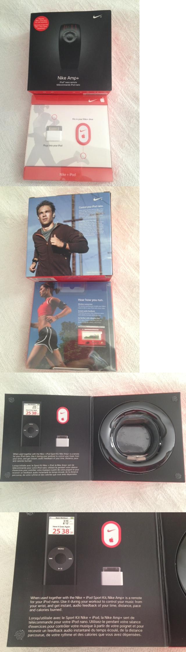 Other iPod and Audio Player Accs: Nike Amp+ Ipod Nano Remote Watch  Wristwatch W Box