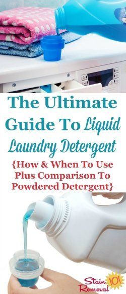 The Ultimate Guide To Liquid Laundry Detergent Laundry Liquid