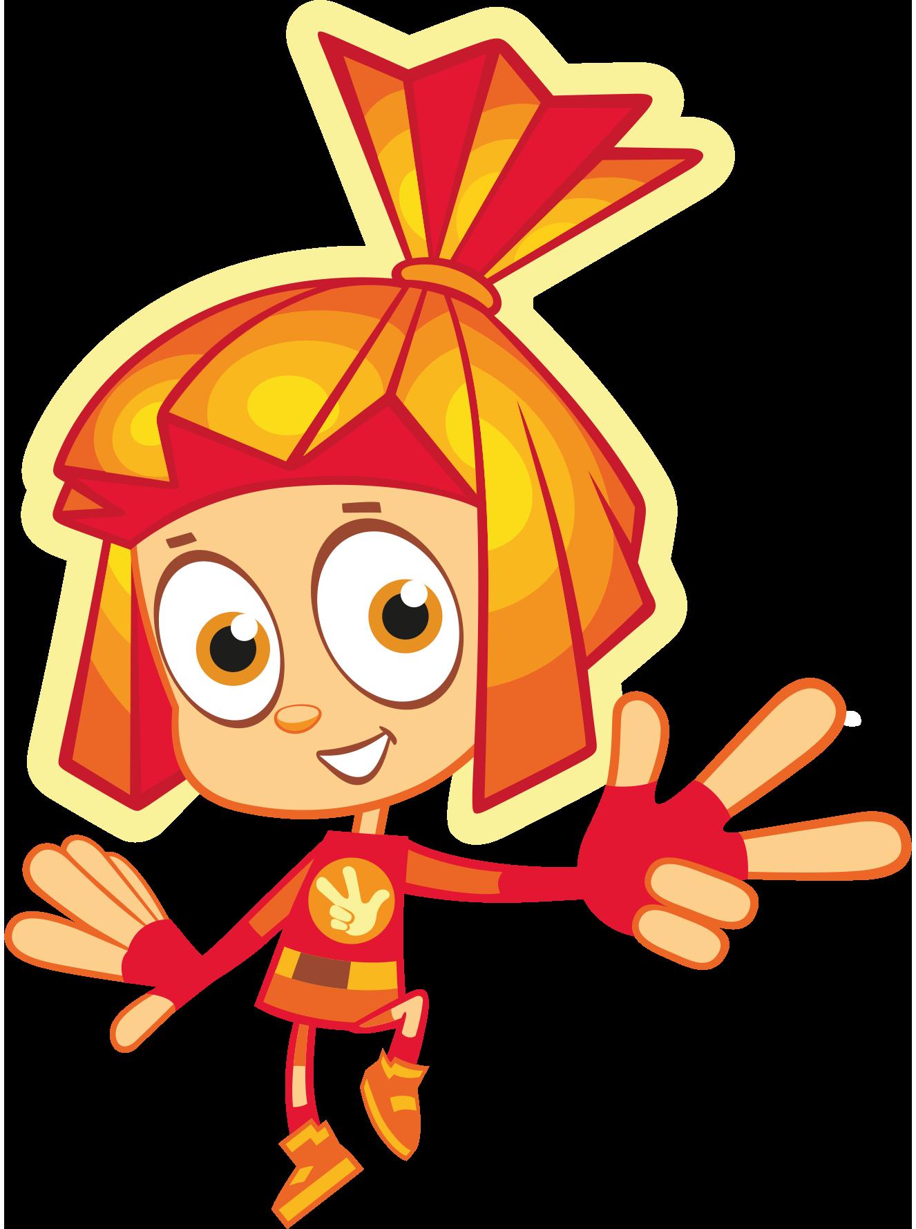 Герои мультфильма «Фиксики» и логотип в векторном формате ...