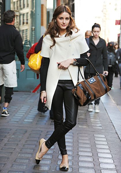 Olivia P., personally not a fan but I have to admit the woman has killer style.