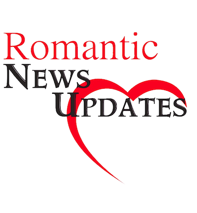 """This is the official logo for """"Romantic News Updates"""" a new cable series that will focus on dating, love and relationship news."""