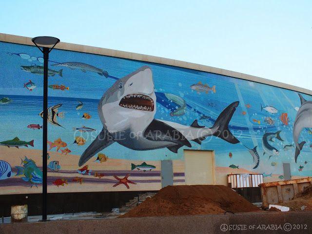 The Fakieh Aquarium Of Jeddah By Www Thesignaturehotels Com Aquarium Jeddah Mural