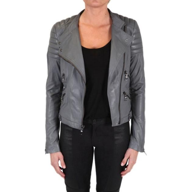Black Orchid Lamb Leather Jacket as seen on Shay Mitchell
