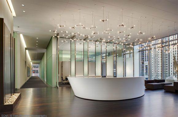 Elegance Reception Area Of Law Office Interior Design V A Espacios Y