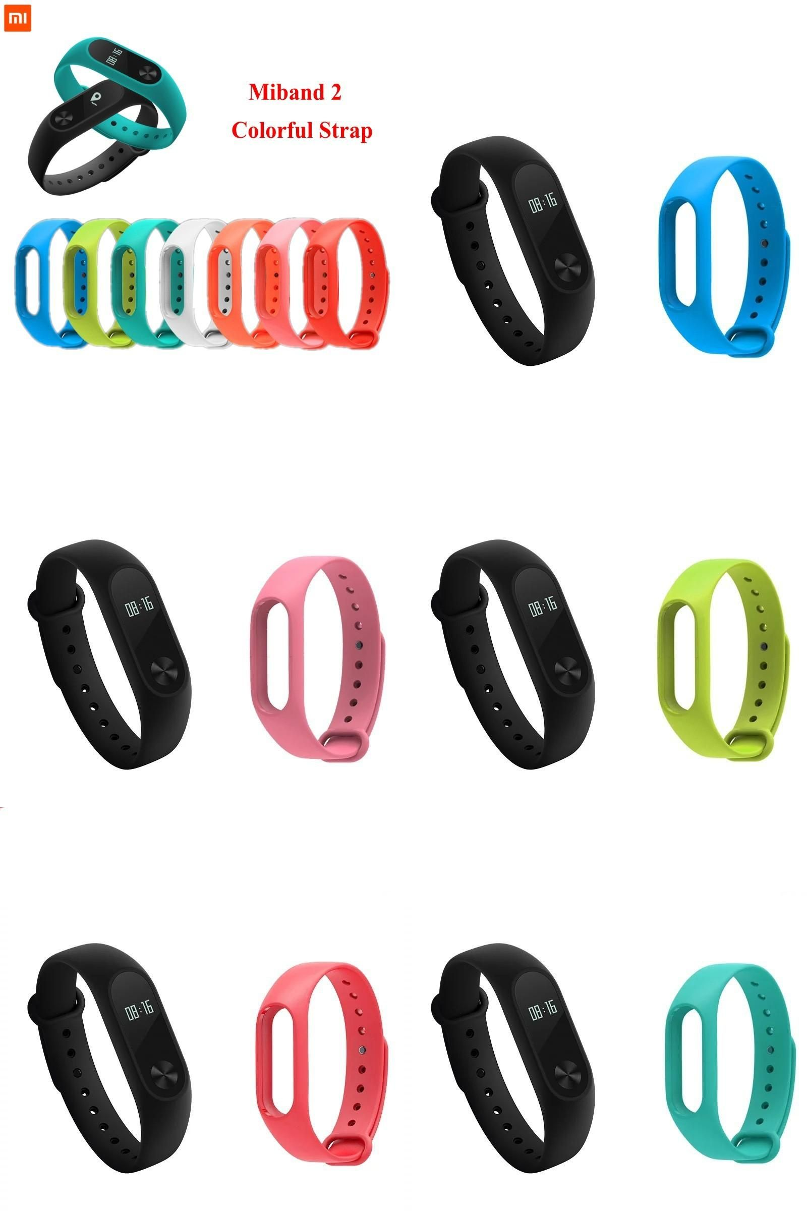 Visit To Buy Xiaomi Mi Band 2 Bracelet Strap Miband 2 Colorful Strap Wristband Replacement Smart Band Accessories For Mi B Smart Band Silicon Bands Wristband