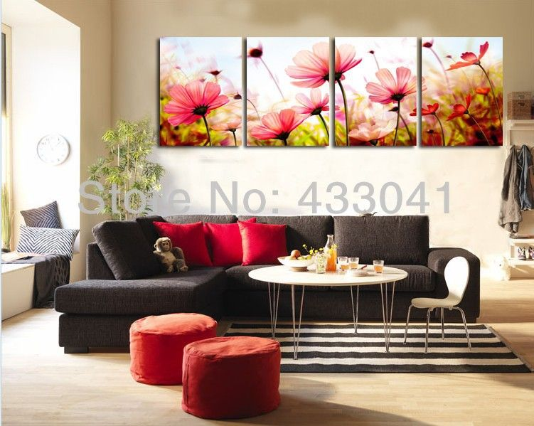 Cuadros de flores para dormitorios buscar con google fiori pinterest cuadro de flores - Lienzos para dormitorios ...