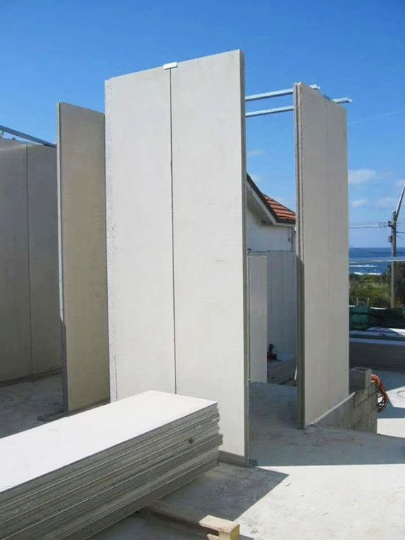 Thermal Insulation Sandwich Concrete Wall Panel Different Types Of Houses Types Of Houses Exterior Wall Siding