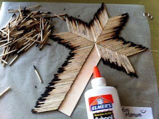Kinder-Craze: Matchstick Cross Project