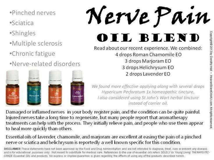 Nerve Pain Oil Blend Young Living Org Sponsor Number