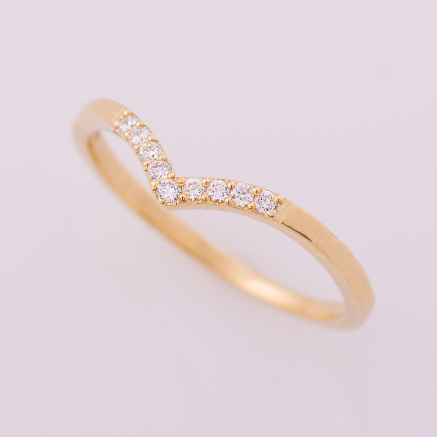 Image Result For Chevron Wedding Band Oval Engagement Ring