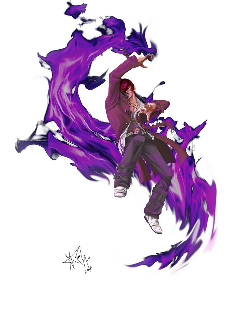 Iori yagami kof xiv by ronnymaia king of fighters