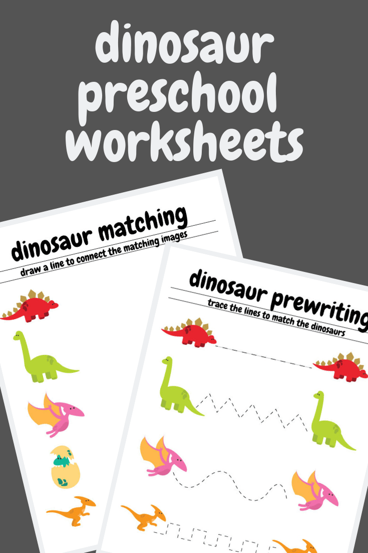 Free Dinosaur Preschool Worksheets These Great Pre Writing And Matching Worksheet Are Perfec Dinosaurs Preschool Preschool Worksheets Free Preschool Worksheets [ 1102 x 735 Pixel ]