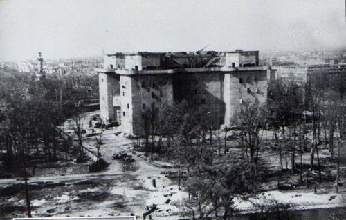 German Artillery The Zoo Flak Tower Flak Tower Tower Berlin