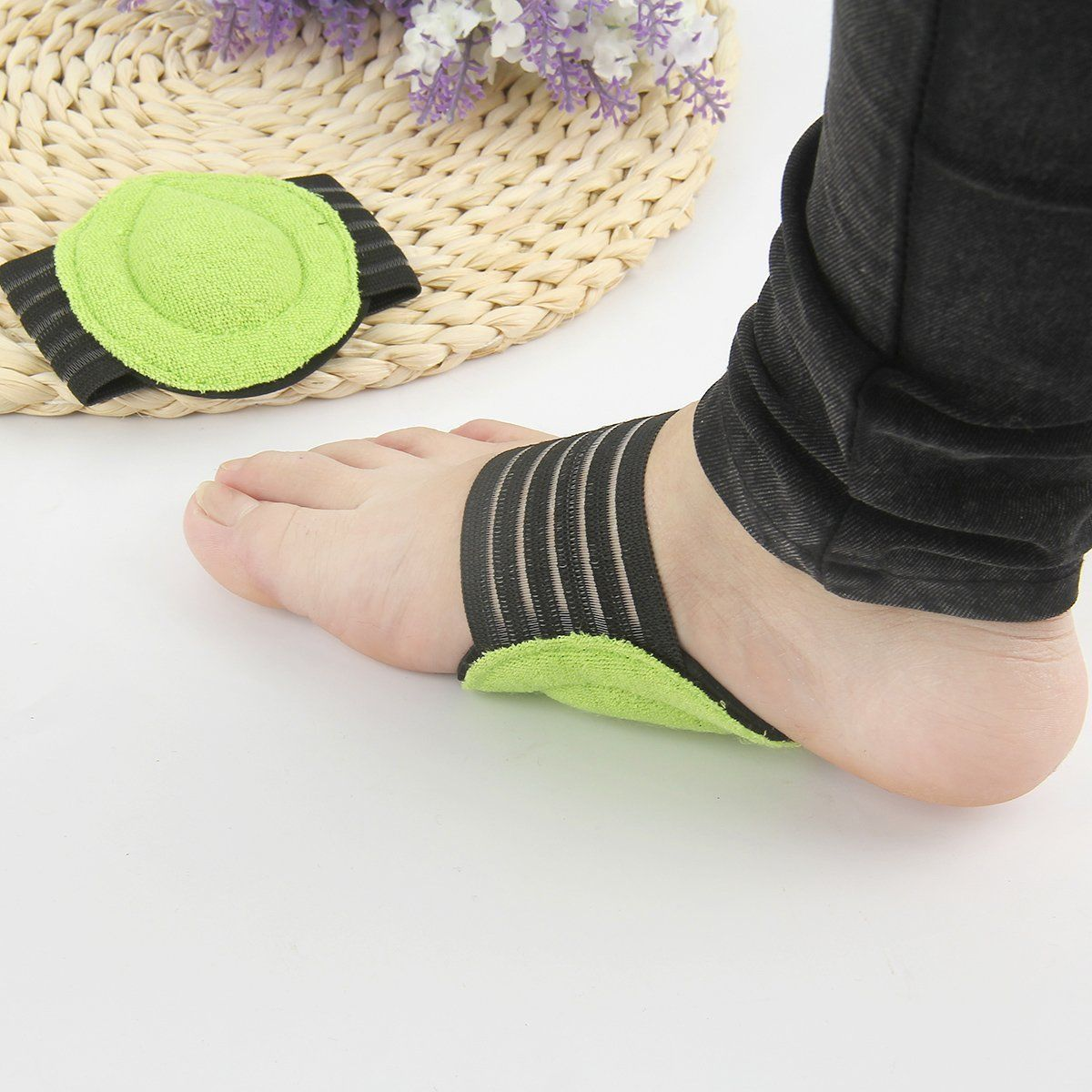 f790b927be Foot Heel Pain Relief Plantar Fasciitis Insole Pads & Arch Support Shoes  Insert