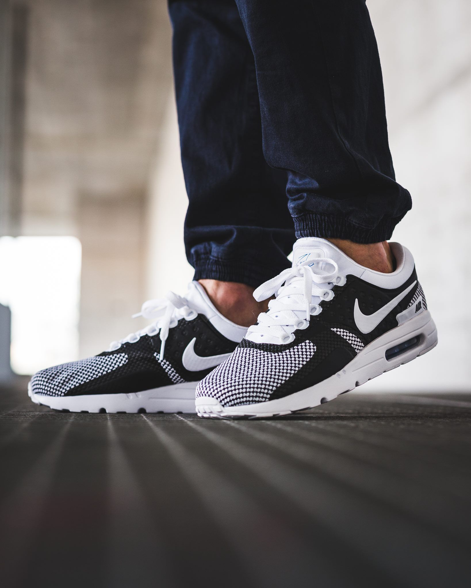 NIKE Air Max Zero Essential  White White-Obsidian-Soar  (876070-103) -  KICKS-DAILY.COM 40474086d