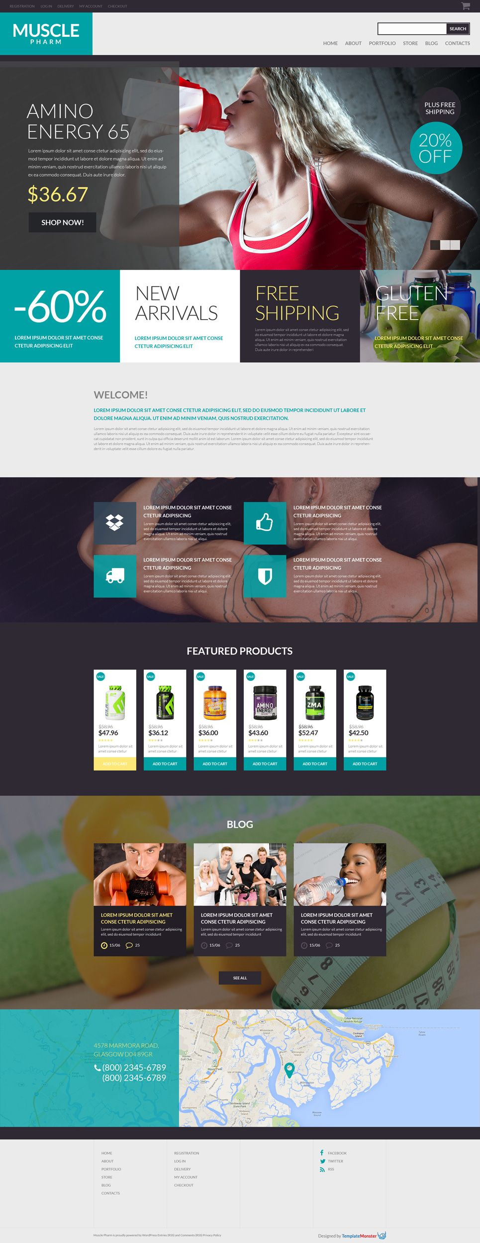 free woocommerce theme for drug store template website http www