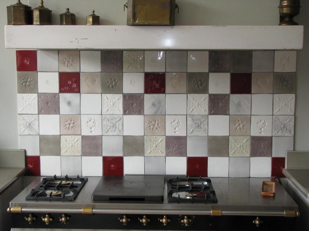 Cuisine Carreaux à faïences et carrelage mural cuisine : carreaux artisanaux pour