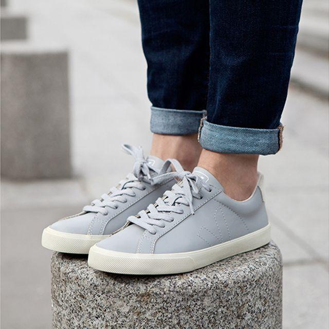veja esplar leather white oxford grey