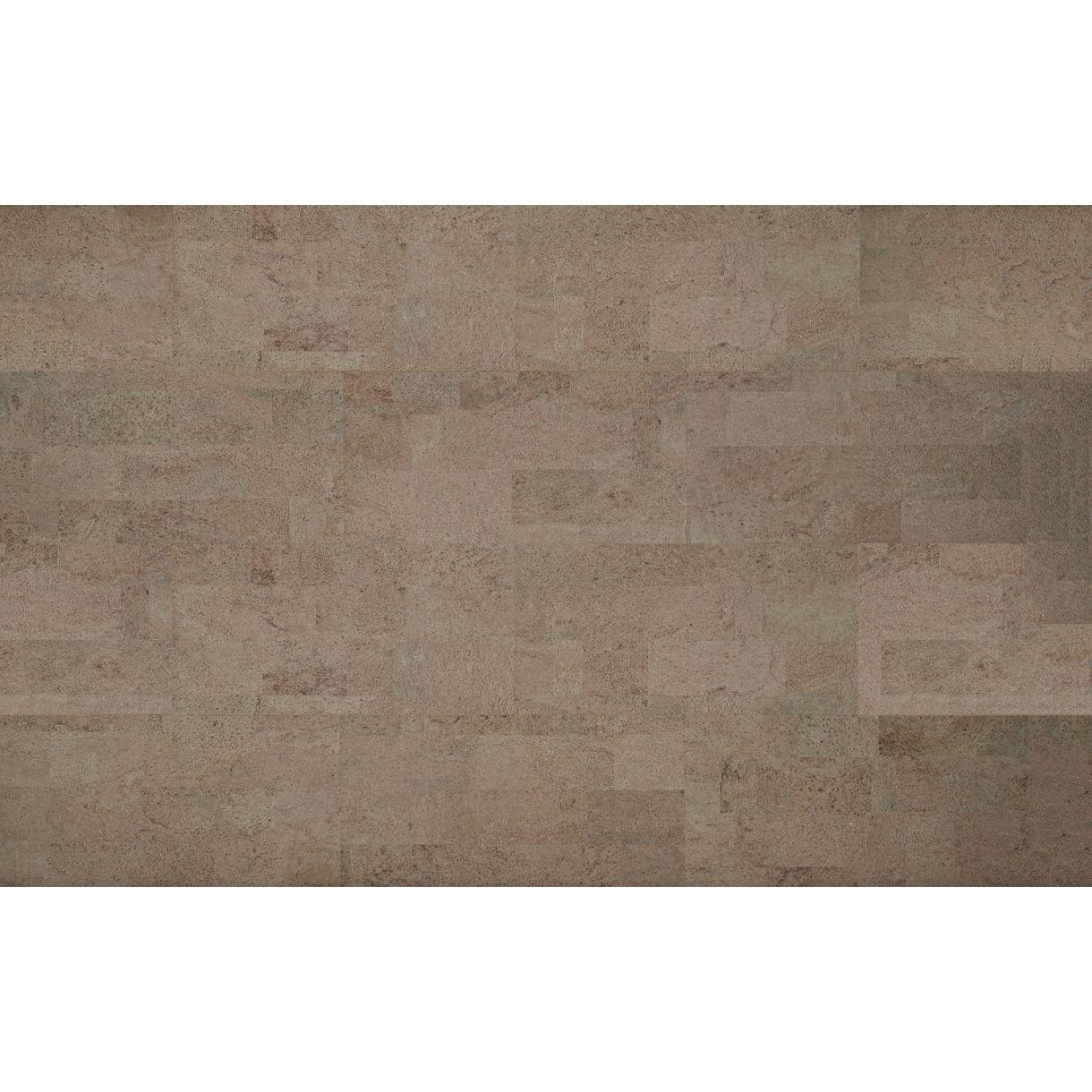 Decorative cork wall tiles MALTA PLATINUM 3x300x600mm - package 1 ...