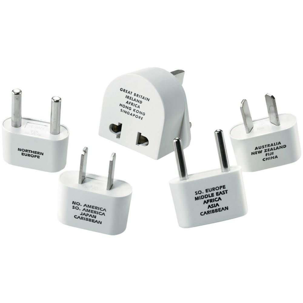 Travel Smart By Conair M500enr International Adapter Plug Set International Adapter Power Adapter Travel Adapter Plug