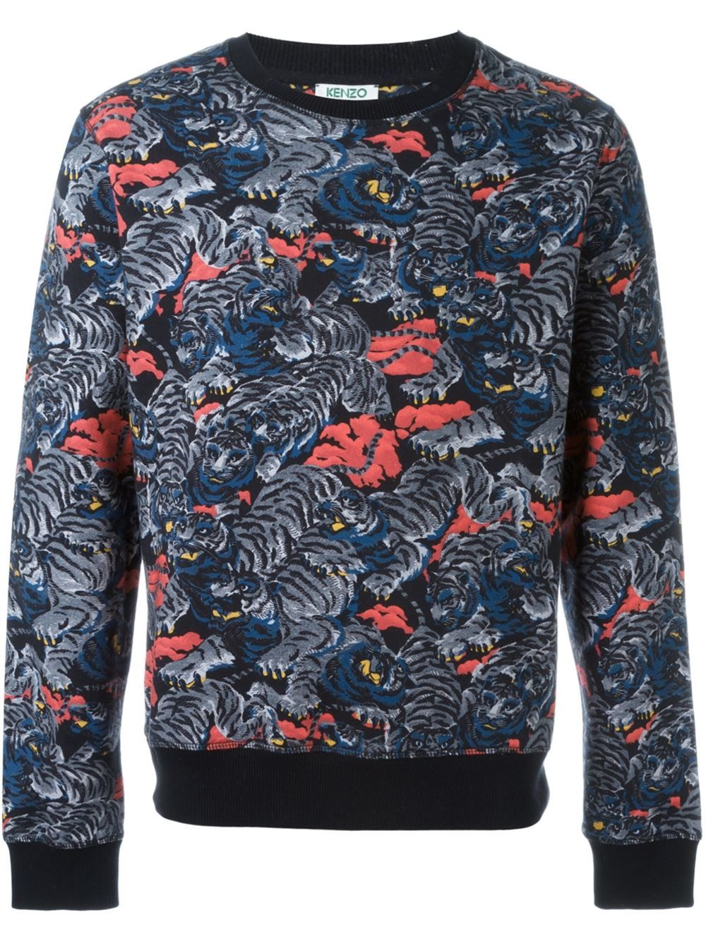 Et Flying Vetements Sweatshirt Boutique TigerKenzo 4RLj5A