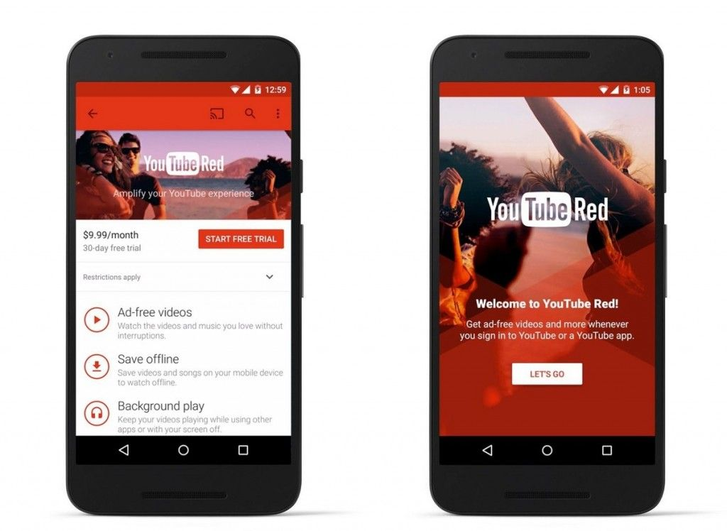 Youtube Red Is Coming October 28 For 9 99 A Month Drippler